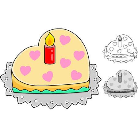 Cute Valentine cartoon Vector