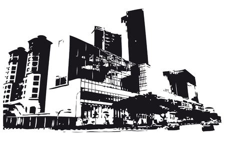 Building silhouette