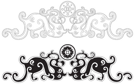Chinese Art Elements Vector