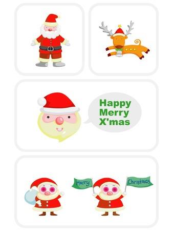 Christmas collection Vector