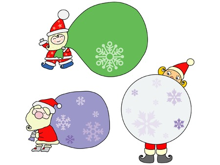 Christmas collection Stock Vector - 3783501