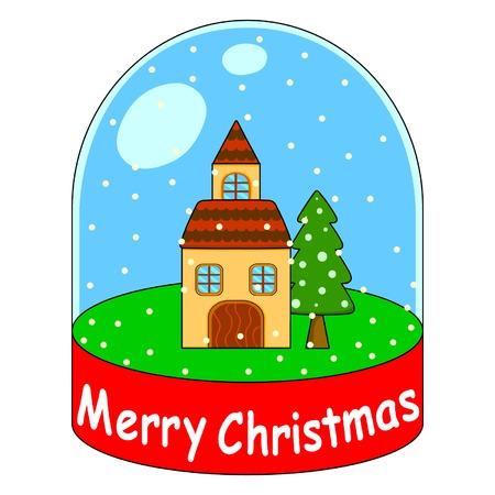 Christmas icon Stock Vector - 3782878