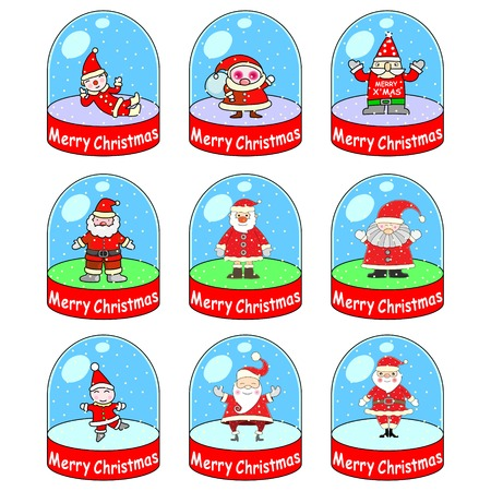 serene: Santa Claus Illustration