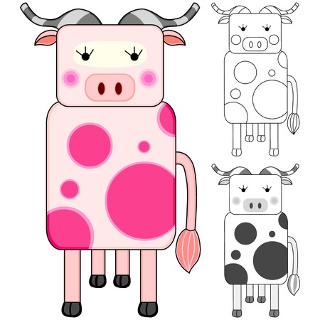 Cow Stock Vector - 4062662