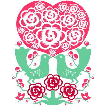Valentine Symbol Vetores