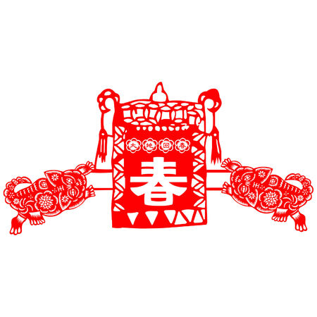 traditionally chinese: Chinese New Year tiger