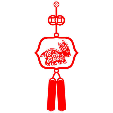 craft product: Chinese New Year rabbit