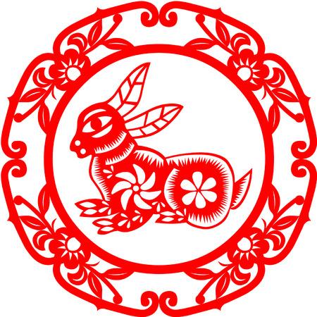 Chinese New Year konijn