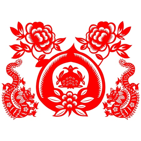 Chinese New Year Dragon 2012 Stock Vector - 11654964