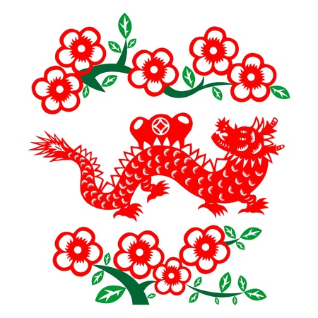 Chinese New Year Dragon 2012 Stock Vector - 11654955