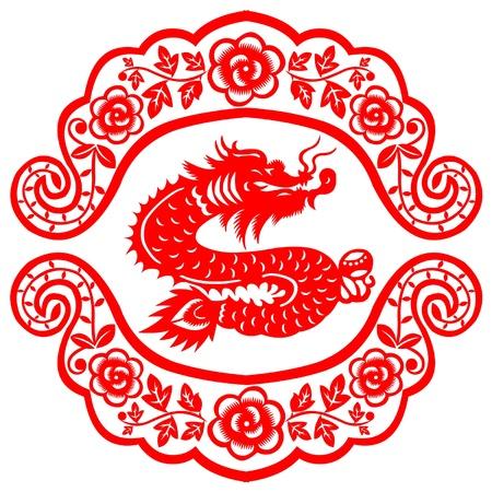 Chinees Nieuwjaar Dragon 2012