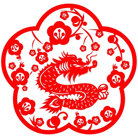 Chinese New Year Dragon 2012 Stock Vector - 11654953