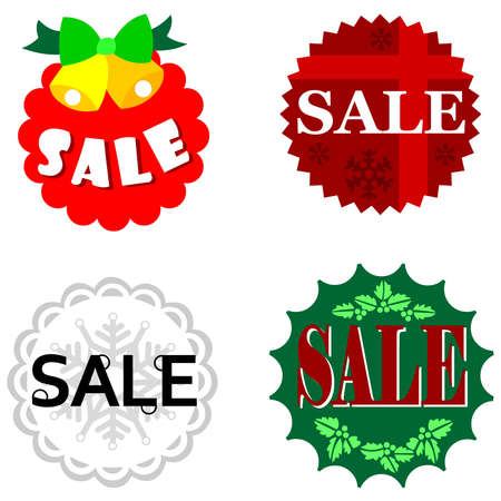 Christmas Shopping Sale Stock Vector - 11654980