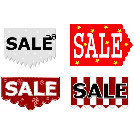 Christmas Shopping Sale Vector