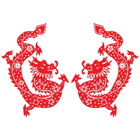 Chinese New Year Dragon 2012 Stock Vector - 11837973