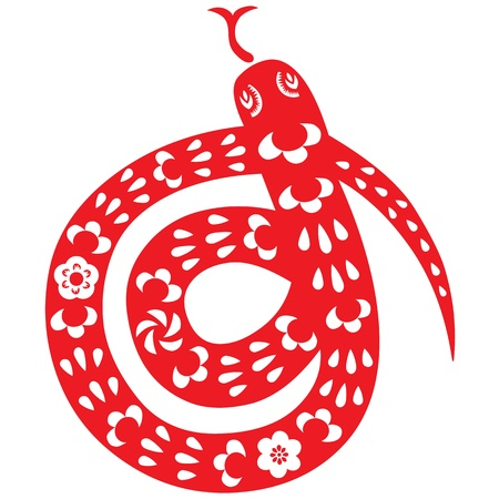 Chinese New Year Snake Stock Vector - 16725009