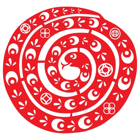 Chinees Nieuwjaar Slang