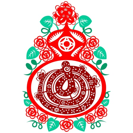 Chinese New Year Snake Stock Vector - 16795459