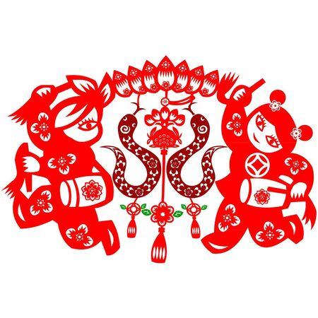 snake year: Chinese New Year Snake