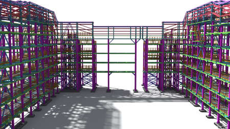 Presentation of the BIM model for the construction customer and contractor. Development of project drawings based on the BIM model. 3D rendering.