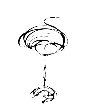 bocal: Il bicchiere stilizzato vino per colpa