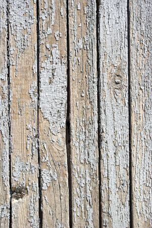 A background of weathered white painted wood Stock Photo - 7154798
