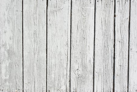 A background of weathered white painted wood Stock Photo - 7292922