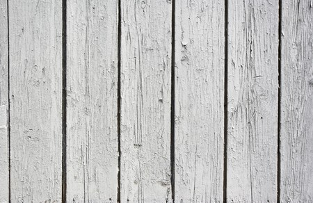 A background of weathered white painted wood Stock Photo - 7305928