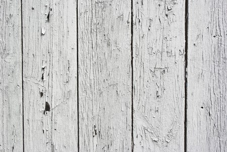 A background of weathered white painted wood Stock Photo - 7305933