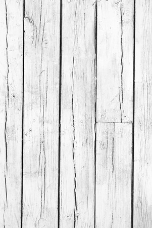 painted wood: old background of  weathered white painted wood Stock Photo