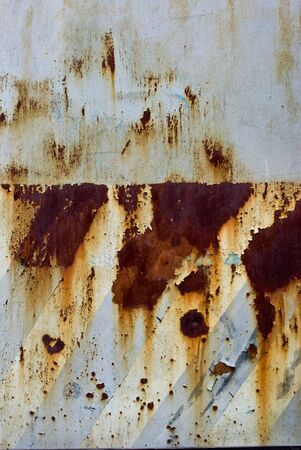 Photo the texture of rusty painted metal Stock Photo - 7871613