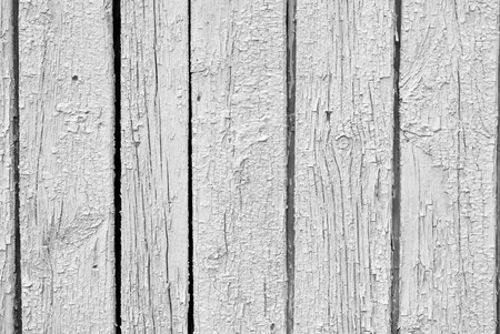 The olden vintage weathered white wooden plank Stock Photo - 7871629