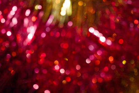 The colored abstract christmas lights as background Stock Photo