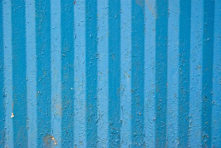 Abstract Background Industrial Texture of Corrugated Iron photo