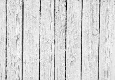 古い風化白い木製の織り目加工の背景