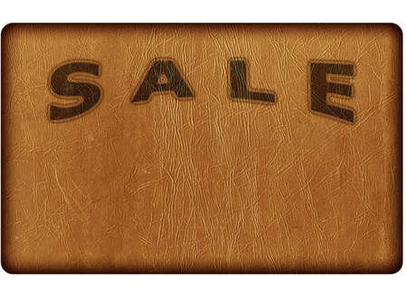 the sale on the skin worn background Stock Photo - 8625536