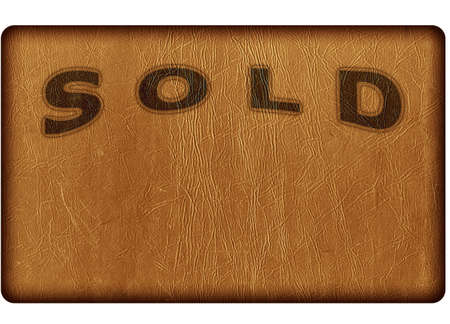 the sold on the skin worn background Stock Photo - 8662158
