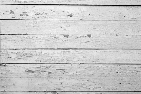 Der Hintergrund des weathered weiß lackiertem Holz Standard-Bild - 9675677
