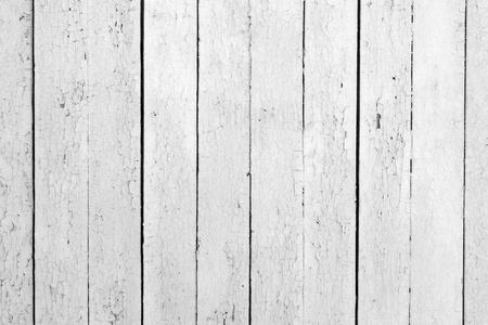 Der Hintergrund des weathered weiß lackiertem Holz Standard-Bild - 10170948