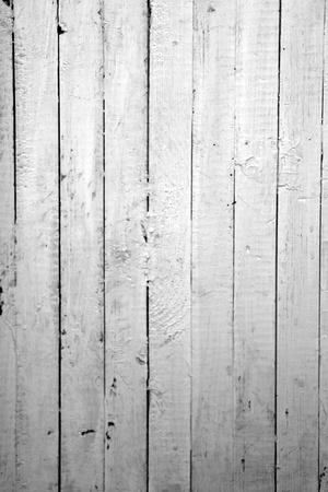 風化させた白い塗られた木の背景 写真素材
