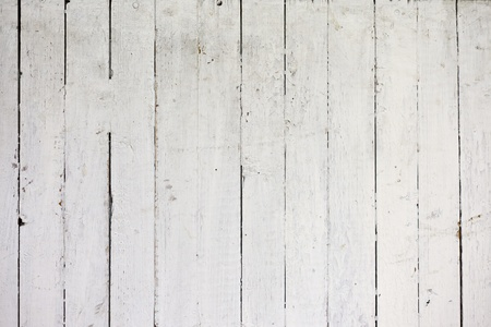 the background of weathered white painted wood Stock Photo - 12746104