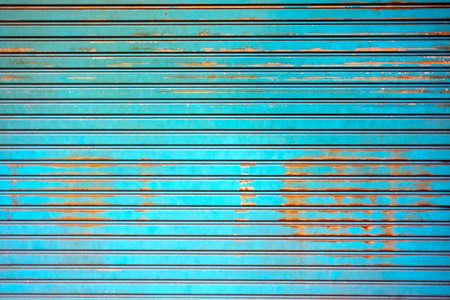 Rusty old corrugated iron fence close up  Stock Photo - 12746107