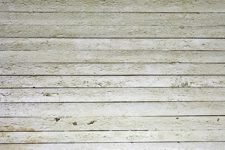the background of weathered white painted wood Stock Photo - 12746271