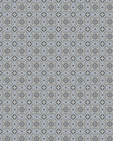 twill: Vintage shabby background with classy patterns  Seamless vintage delicate colored wallpaper  Geometric or floral pattern on paper texture in grunge style  Stock Photo