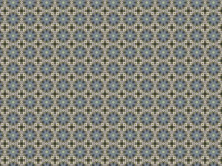 Vintage shabby background with classy patterns  Seamless vintage delicate colored wallpaper  Geometric or floral pattern on paper texture in grunge style  Stock Photo - 17086309