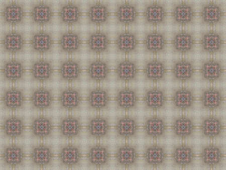 Vintage shabby background with classy patterns  Geometric or floral pattern on paper texture in grunge style Stock Photo - 17510631