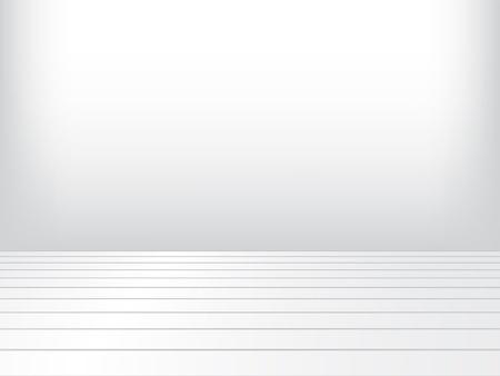 White wood interior Stock Vector - 17510643