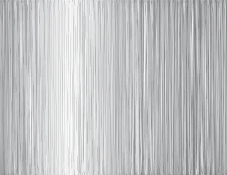 brushed aluminum: hierro textura Vectores