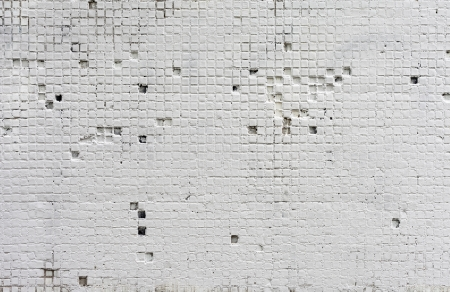 The Background from high detailed fragment stone white wall Stock Photo - 17632369
