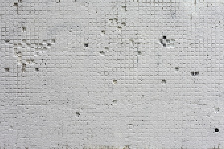 The Background from high detailed fragment stone white wall Stock Photo - 17962490